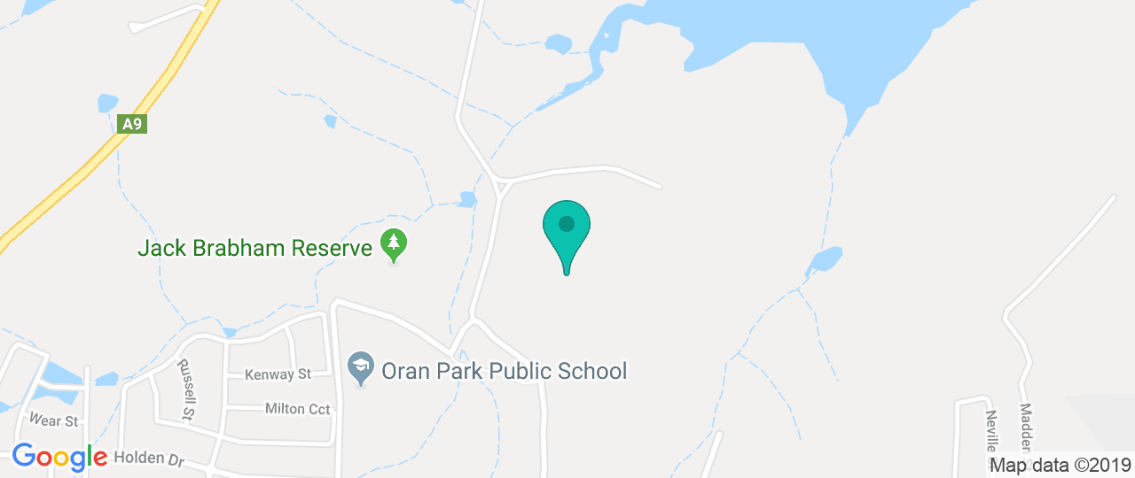 Image result for brabham reserve map oran park